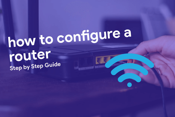how to configure a router