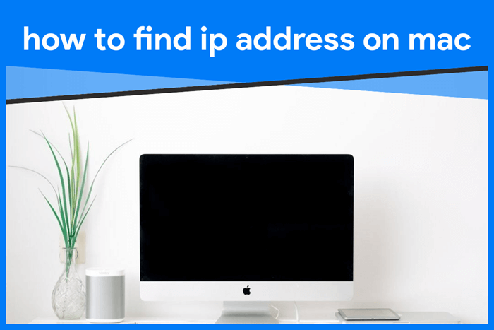 how to find ip address on mac