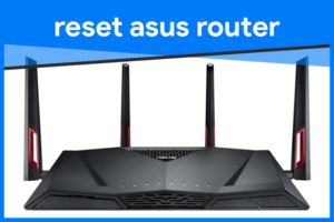 reset asus router