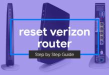 reset verizon router